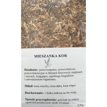 Medžių žievių arbata